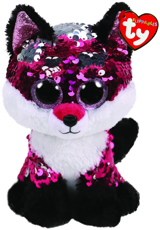 FLIPPABLES MEDIUM JEWEL - PINK FOX
