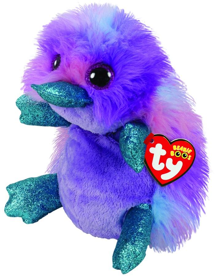 BEANIE BOOS MEDIUM ZAPPY - PURPLE PLATYPUS