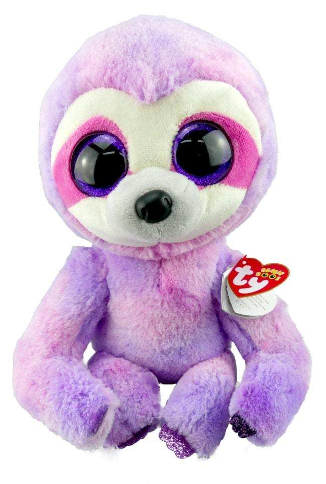 BEANIE BOOS MEDIUM DREAMY - PURPLE SLOTH