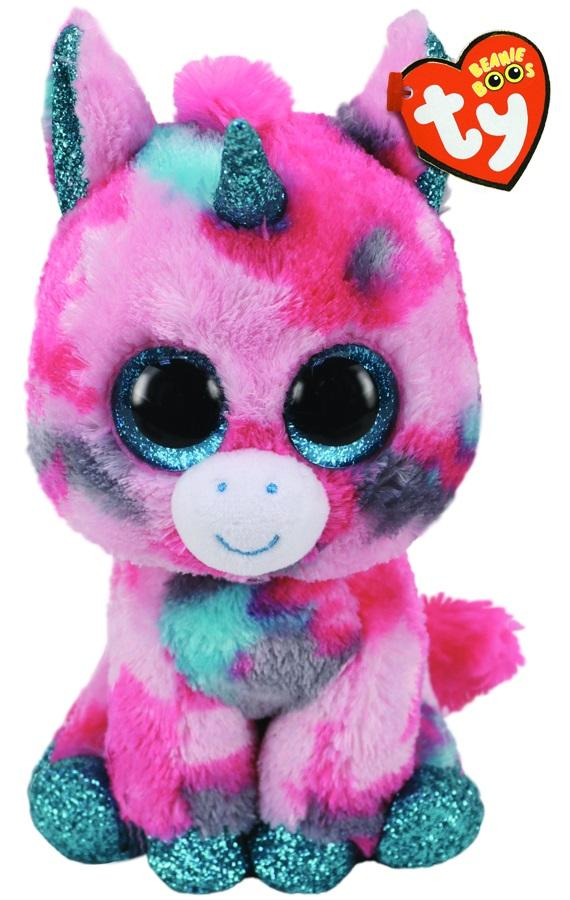 BEANIE BOOS MEDIUM GUMBALL - UNICORN