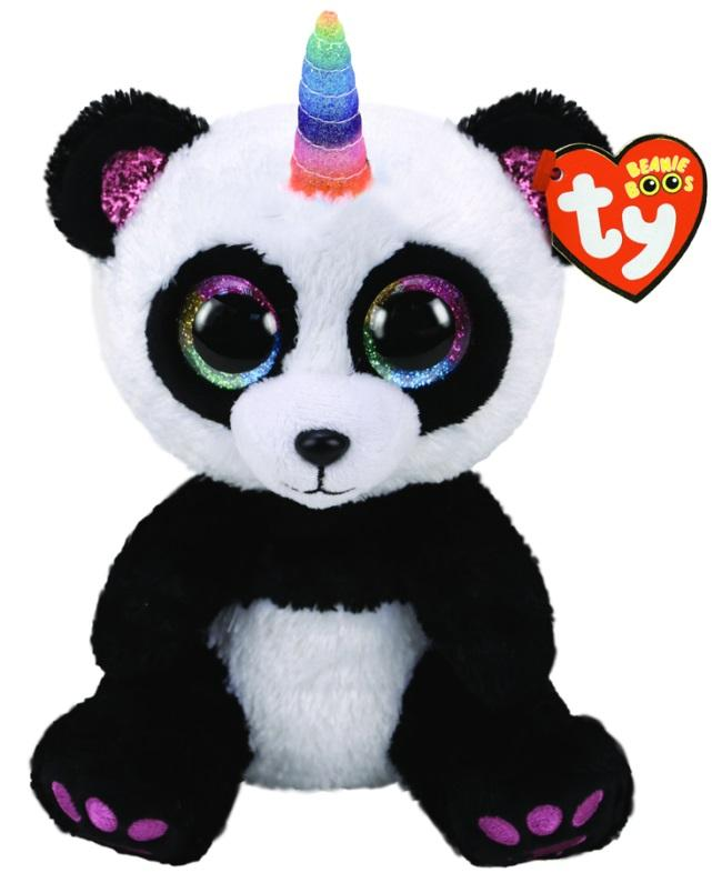BEANIE BOOS MEDIUM PARIS - PANDA WITH HORN