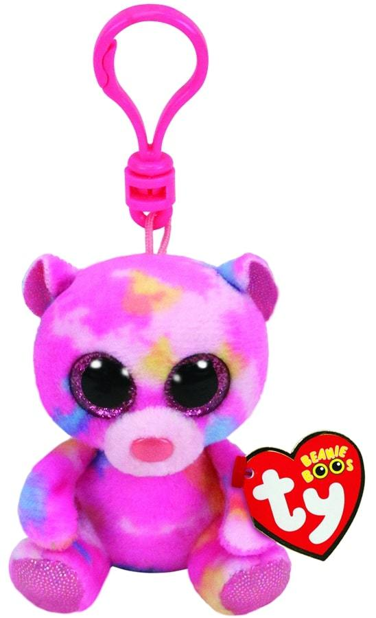 BEANIE BOOS CLIPS FRANKY - MULTICOLOURED BEAR