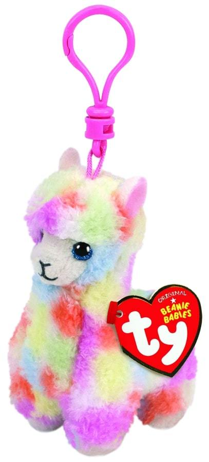 BEANIE BABIES CLIPS LOLA - MULTICOLOURED LLAMA