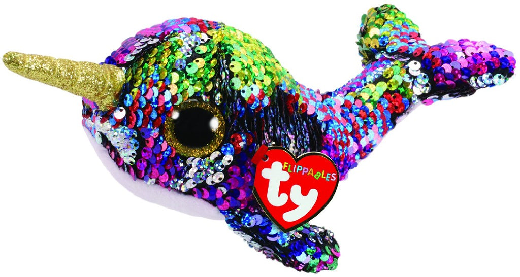 FLIPPABLES REGULAR CALYPSO - MULTICOLOURED NARHWAL