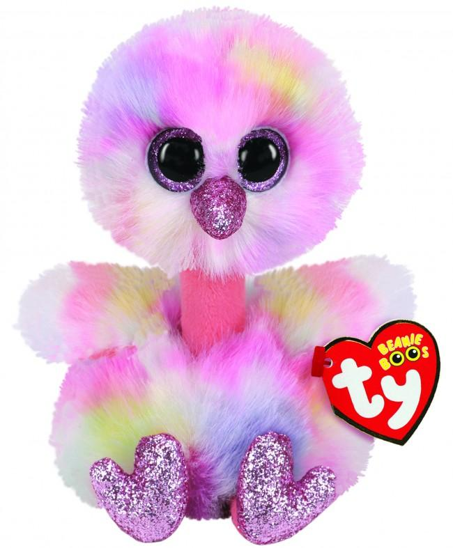 BEANIE BOOS REGULAR AVERY - MULTI OSTRICH