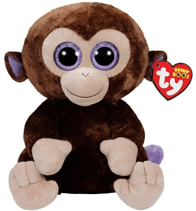 BEANIE BOOS LARGE COCONUT- MONKEY