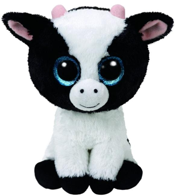 BEANIE BOOS REGULAR BUTTER - WHITE COW