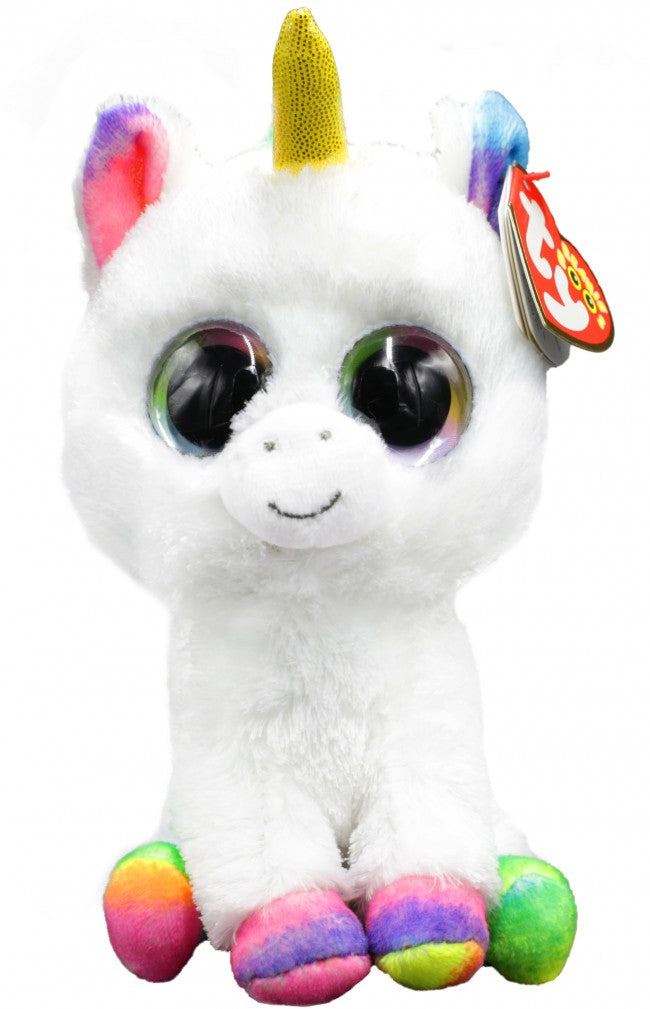 BEANIE BOOS REGULAR PIXY - WHITE UNICORN