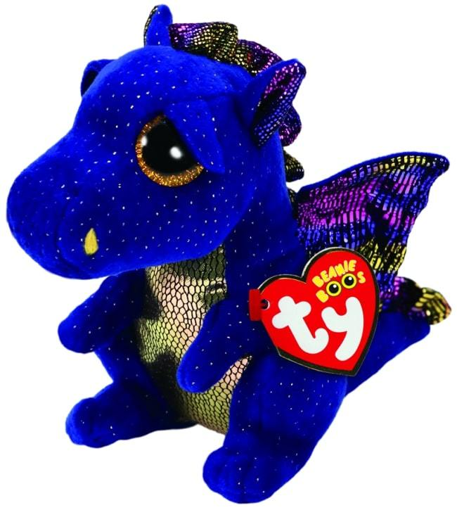 BEANIE BOOS REGULAR SAFFIRE - BLUE DRAGON