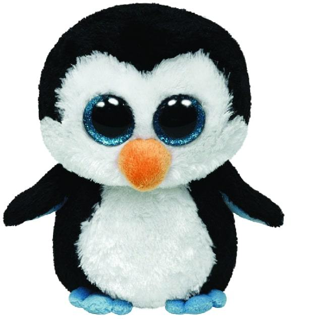 BEANIE BOOS MEDIUM WADDLES - PENGUIN