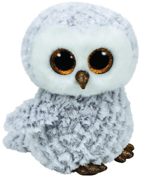 BEANIE BOOS MEDIUM OWLETTE - WHITE OWL