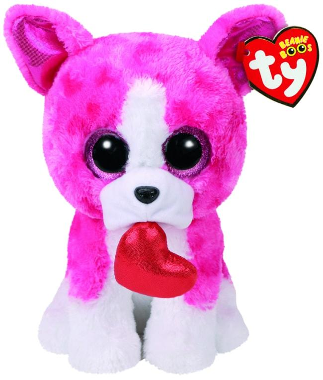 BEANIE BOOS MEDIUM ROMEO - VALENTINES DOG
