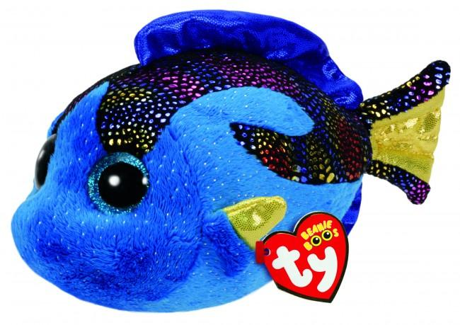 BEANIE BOOS REGULAR AQUA - BLUE FISH
