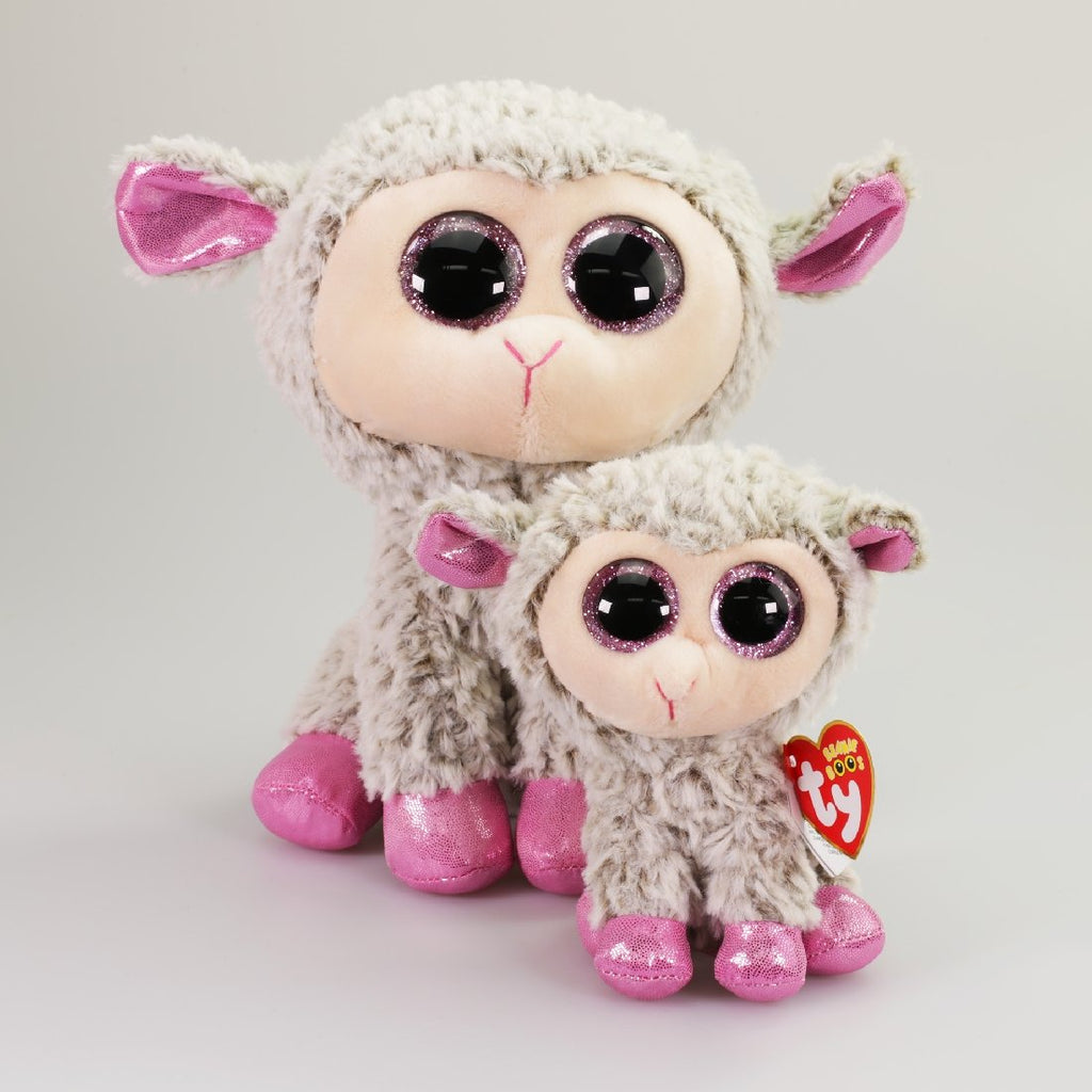 BEANIE BOOS MEDIUM DIXIE - LAMB EASTER