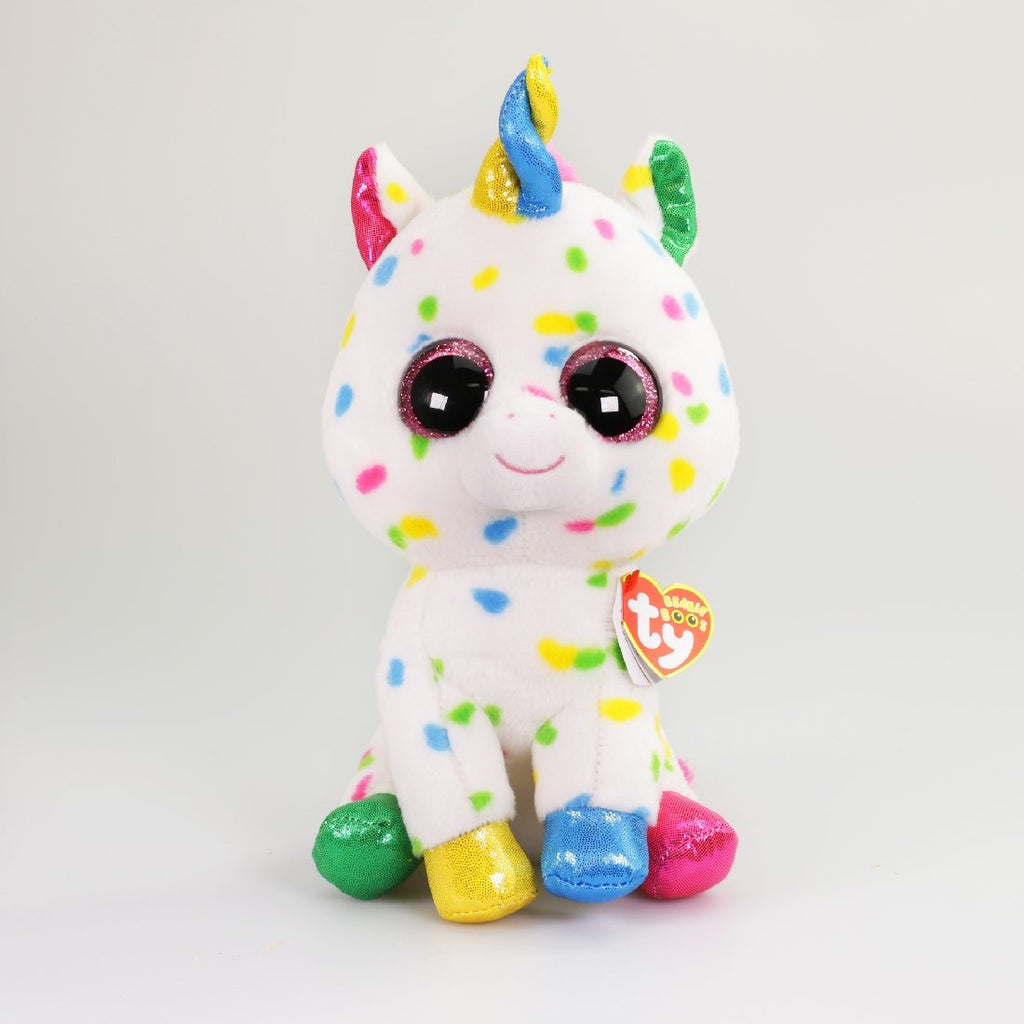 BEANIE BOOS MEDIUM HARMONIE - SPECKLED UNICORN