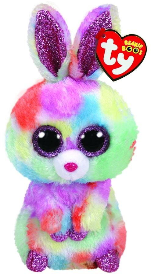 BEANIE BOOS REGULAR BLOOMY - PASTEL BUNNY EASTER