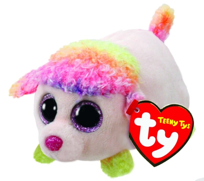 TEENY TYS FLORAL - MULICOLOURED POODLE