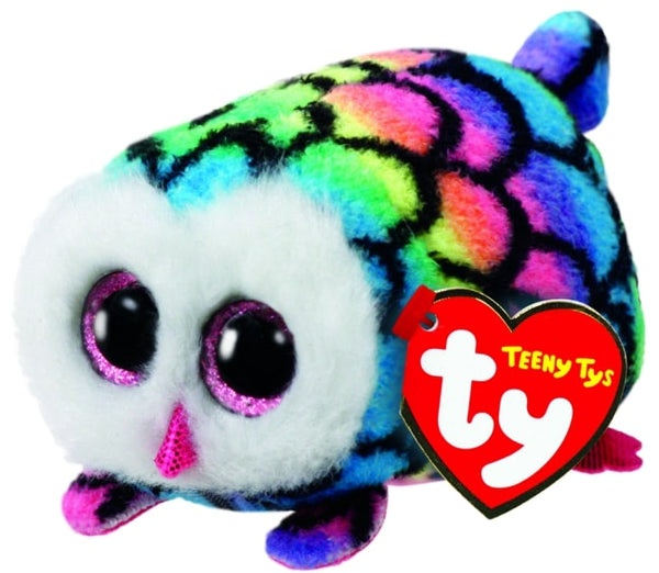 TEENY TYS HOOTIE - MULTICOLOURED OWL