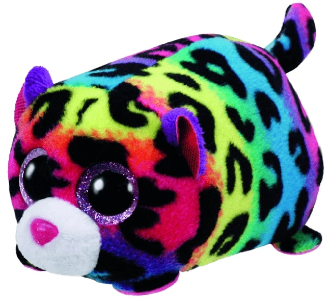 TEENY TYS JELLY - MULTICOLOURED LEOPARD