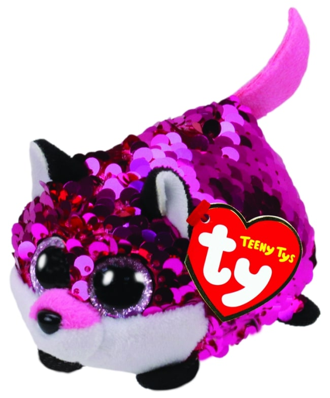 TEENY TYS JEWEL - SEQUIN PINK FOX