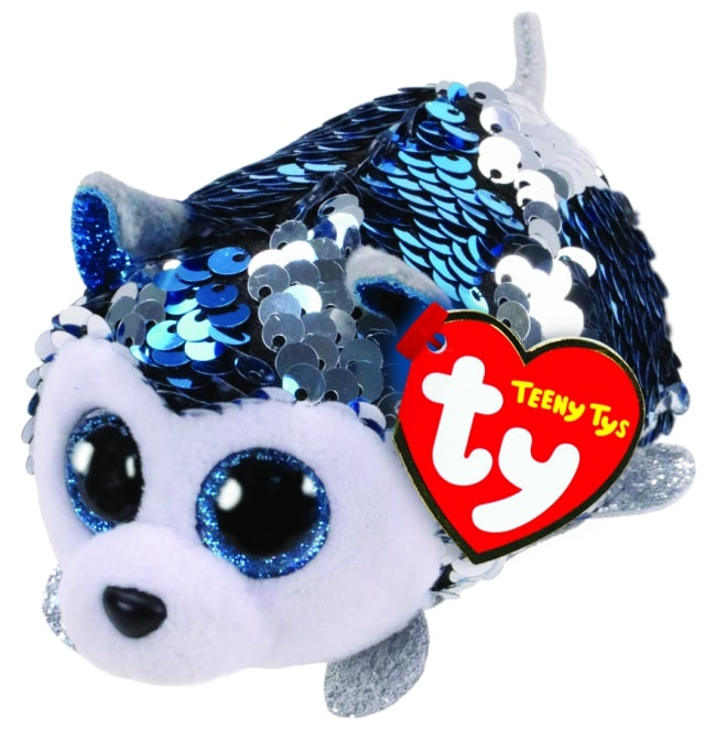 TEENY TYS SLUSH - SEQUIN BLUE HUSKY