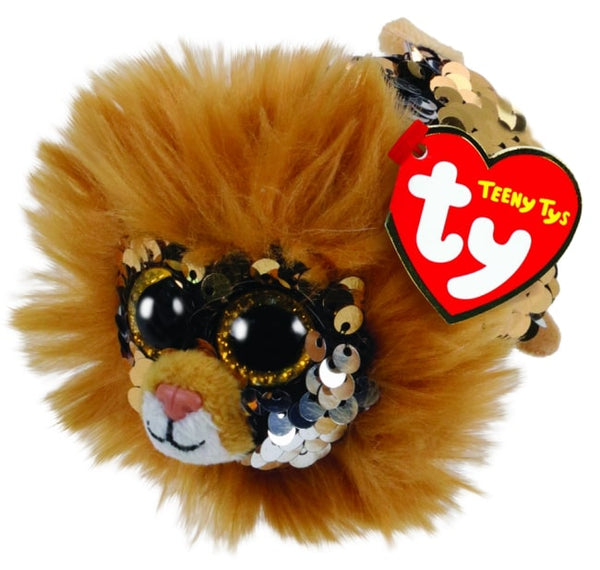 TEENY TYS REGAL - SEQUIN TAN LION