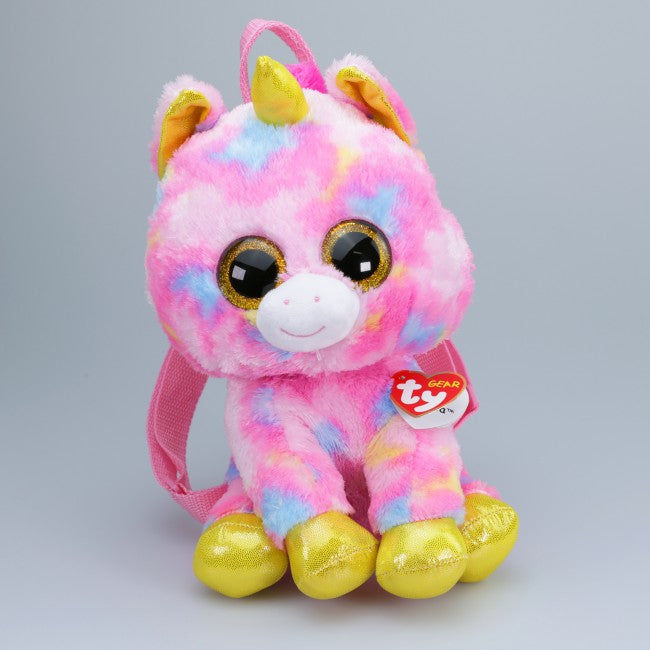 BEANIE BOOS BACKPACK FANTASIA - MULTICOLOURED UNICORN