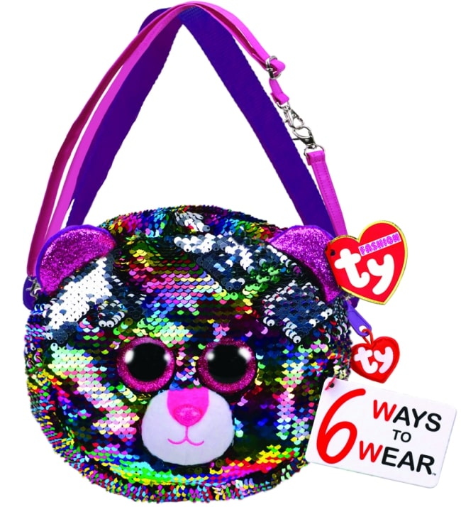 TY FASHION PURSE SEQUIN - DOTTY