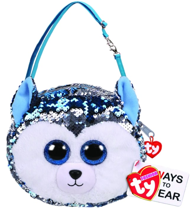 TY FASHION PURSE SEQUIN - SLUSH