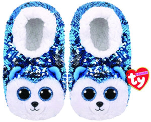 TY FASHION SEQUIN SLIPPERS SLUSH - MEDIUM