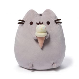 PUSHEEN WITH ICE CREAM CONE PLUSH