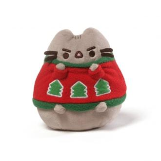PUSHEEN HOLIDAY SWEATER PLUSH