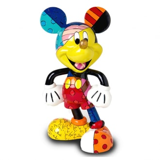 DISNEY BRITTO MICKEY MOUSE LARGE COLLECTIBLE FIGURINE