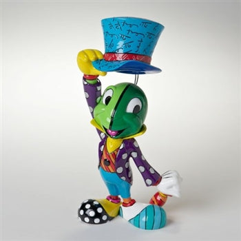DISNEY BRITTO JIMINY CRICKET LARGE FIGURINE