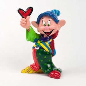DISNEY BRITTO DOPEY LARGE COLLECTIBLE FIGURINE