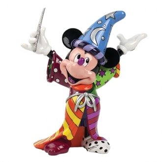 DISNEY BRITTO SORCERER MICKEY LARGE FIGURINE
