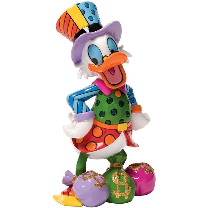 DISNEY BRITTO UNCLE SCROOGE COLLECTIBLE FIGURINE