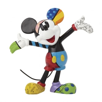 DISNEY BRITTO MICKEY MOUSE ARMS OUT MINI COLLECTIBLE FIGURINE