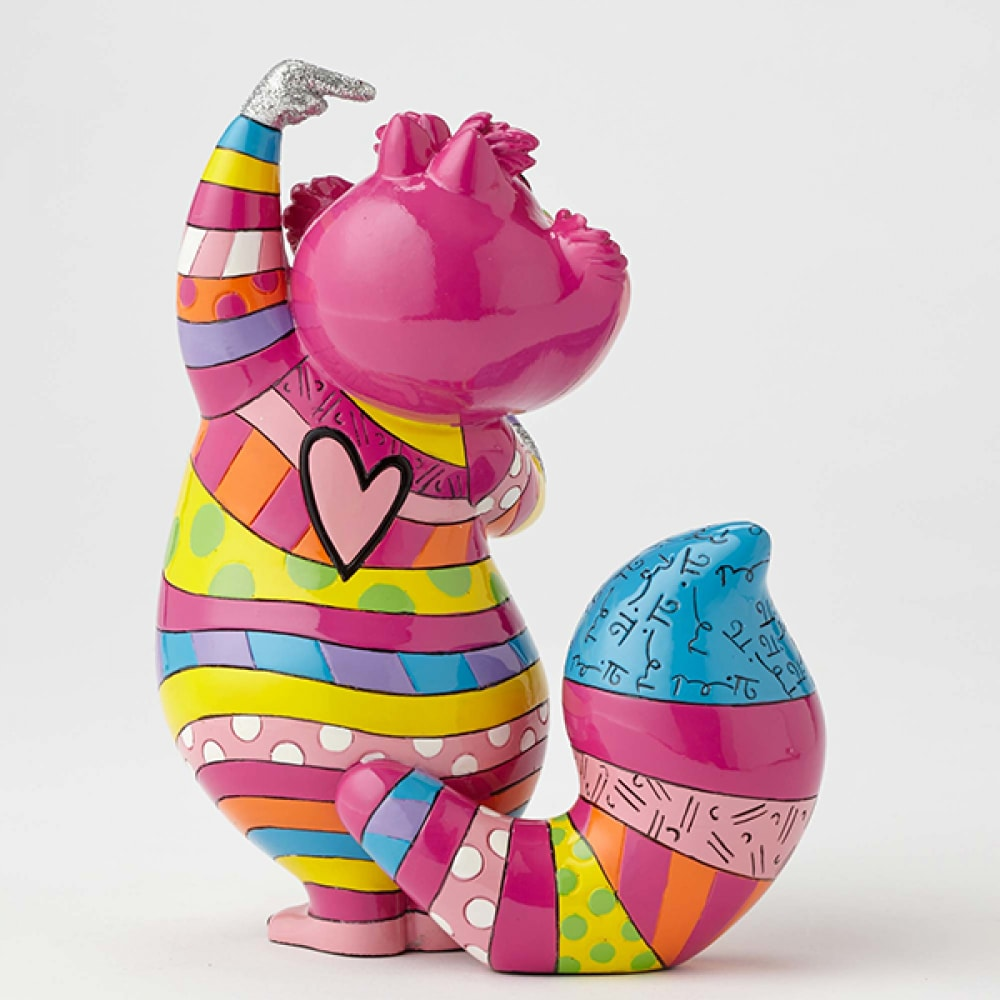 DISNEY BRITTO CHESHIRE CAT MEDIUM COLLECTIBLE FIGURINE