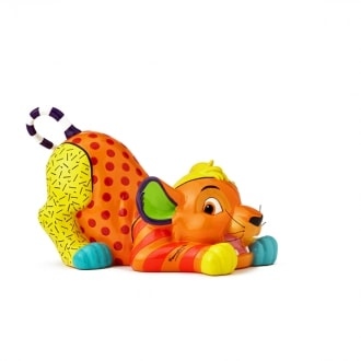 DISNEY BRITTO SIMBA LARGE COLLECTIBLE FIGURINE