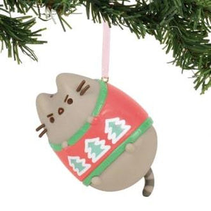 PUSHEEN HANGING ORNAMENT 2018 - UGLY SWEATER