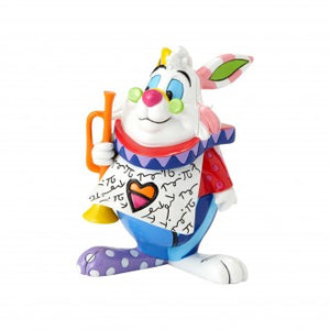 DISNEY BRITTO MINI FIGURINE WHITE RABBIT