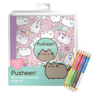 PUSHEEN COLOURING BOOK SET