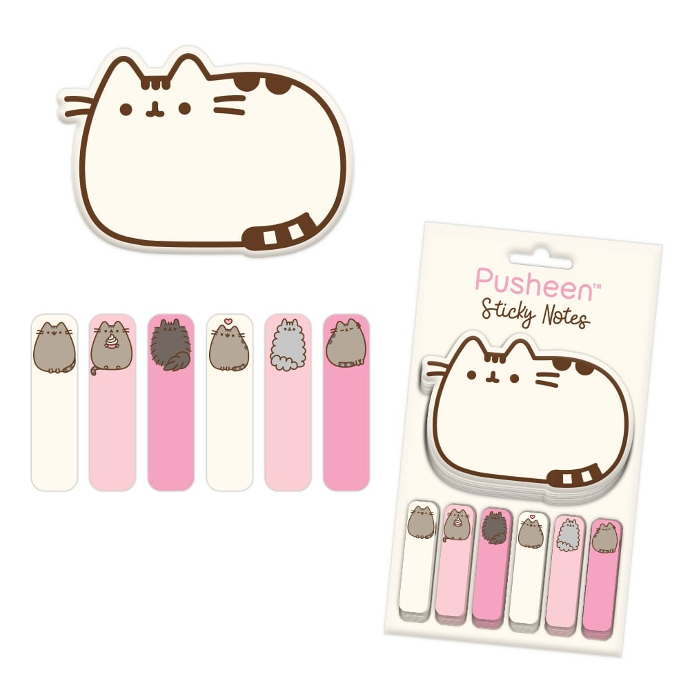Pusheen Sticky Notes Set