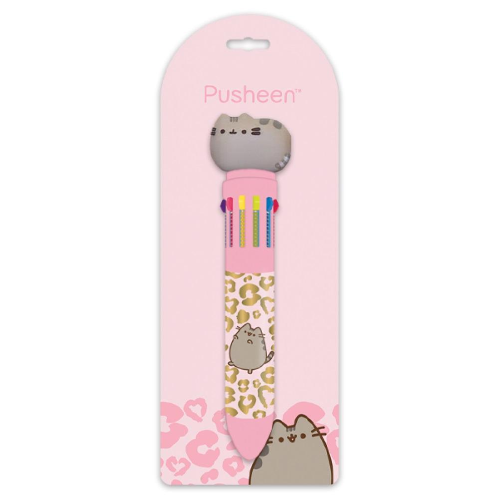 Pusheen Wild Side - 10 Colour Pen