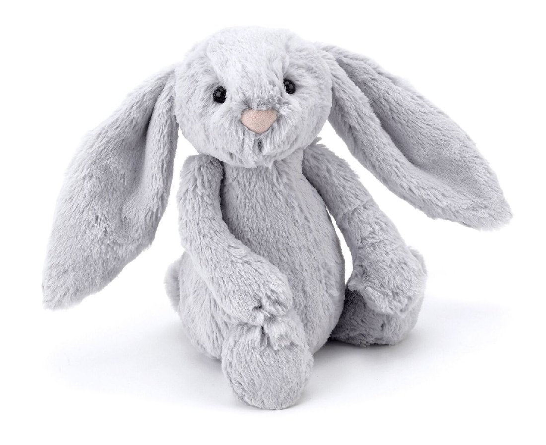 JELLYCAT BASHFUL SILVER BUNNY MEDIUM