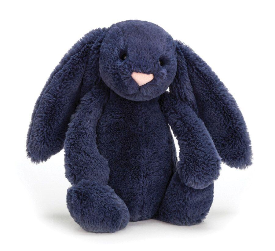 JELLYCAT BASHFUL NAVY BUNNY SMALL