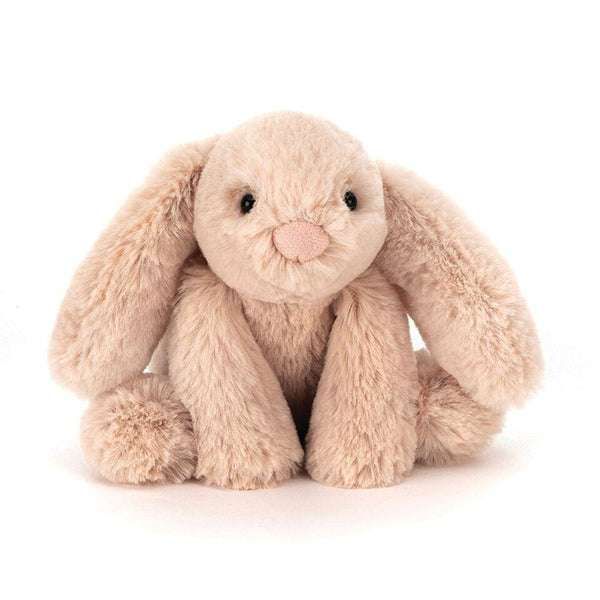 JELLYCAT SMUDGE BEIGE BUNNY TINY