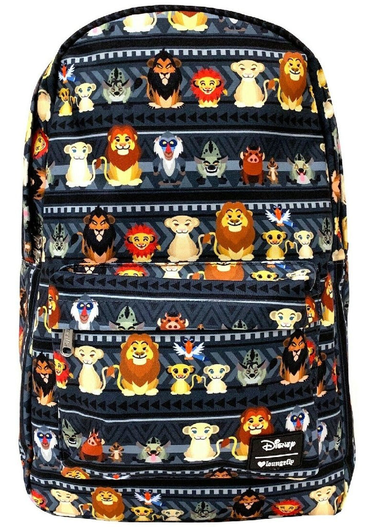 Loungefly x Disney Lion King Chibi Print Backpack