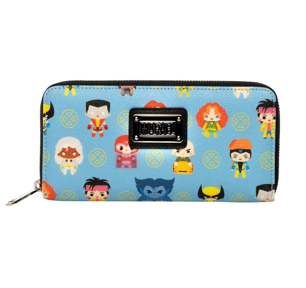 Loungefly x Marvel X-Men Chibi Print Wallet